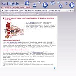52 outils de recherche sur Internet et Méthodologie de veille informationnelle sur le Web