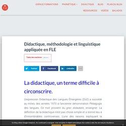 Didactique, méthodologie et linguistique appliquée en FLE — Au son du fle - Michel Billières