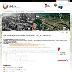 BRGM 19/04/17 Méthodologie nationale de gestion des sites et sols pollués