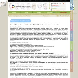 Dissertation de philosophie exemple - Deux exemples d introduction de ...