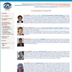 Philosophie de soin de l'Humanitude® et Méthodologie de soin Gineste-Marescotti ® - Les responsables du réseau IGM