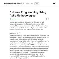 Extreme Programming Using Agile Methodologies