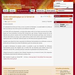 Guide méthodologique sur le format de fichiers PDF