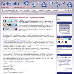 Guide méthodologique des usages Web 2.0 dans les organisations