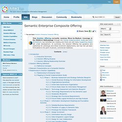 Semantic Enterprise Composite Offering