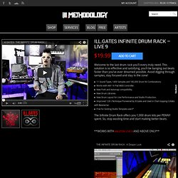ill.GATES INFINITE DRUM RACK - LIVE 9