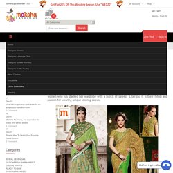 Methods To Buy And Wear Traditional Sarees