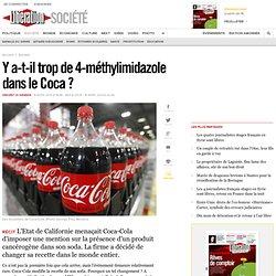 Y a-t-il trop de 4-méthylimidazole dans le Coca ?