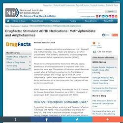 Stimulant ADHD Medications: Methylphenidate and Amphetamines