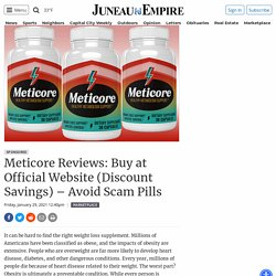 Meticore Reviews: Buy at Official Website (Discount Savings) – Avoid Scam Pills