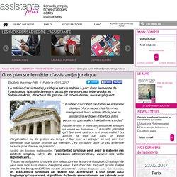 Gros plan sur le métier d'assistant(e) juridique