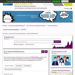 Offres d'emploi publiées sur Moselia