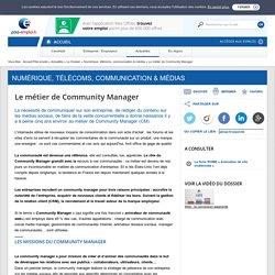 Le métier de Community Manager