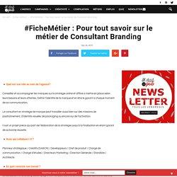 Fiche métier : Consultant Branding