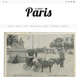 Quel métier improbable auriez-vous pu exercer au XIXe siècle? - Il était Paris