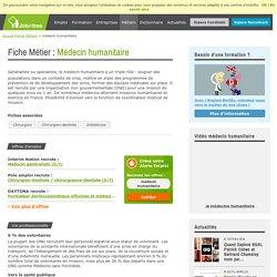 Métier médecin humanitaire