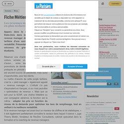 Fiche Métier : Revenue Manager - Le Parisien Etudiant