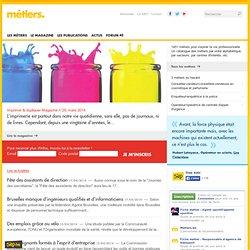 Le magazine du site METIERS - Un site du S.I.E.P. Asbl - www.siep.be