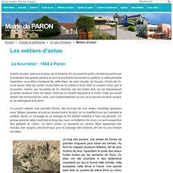 Métiers d'antan - Mairie de PARON