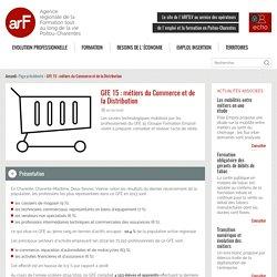 GFE 15 : métiers du Commerce et de la Distribution
