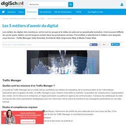 Les 5 métiers d'avenir du digital par FrenchWeb