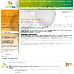 Métiers de l'environnement - IRFEDD