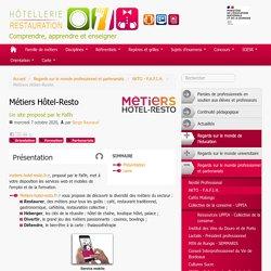 Métiers Hôtel-Resto