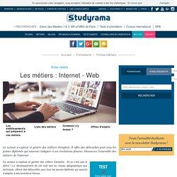 Fiches Métiers : Internet - Web - Studyrama.com