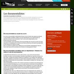Les métiers du Louvre : documentalistes