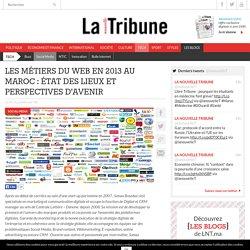 Les métiers du web en 2013 au Maroc : état des lieux et perspectives d'avenir