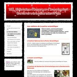 Les métiers de la police scientifique - Fête de la science 2009 à la BEI