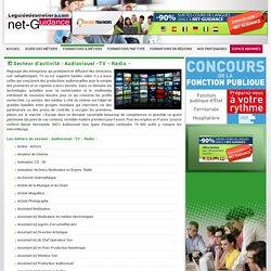 Les métiers du secteur Audiovisuel -TV - Radio -