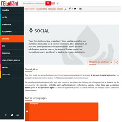Les métiers du social : zoom sur le secteur social
