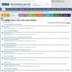 Chemie - Metodický portál RVP.CZ - unikátní PROSTOR PRO UČITELE, sdílení zkušeností a spolupráci