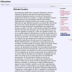 Método Creativo (Creatividad)