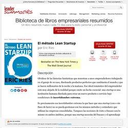 'El método Lean Startup', por Eric Ries