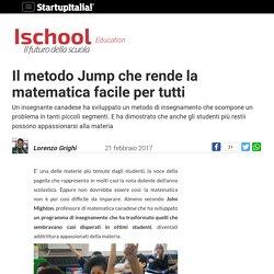 Il metodo Jump che rende la matematica facile per tutti