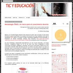 TIC y Educación: Metodología TPACK. Un marco para el conocimiento docente
