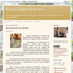 Revista Digital El Recreo: METODOLOGÍA DE DIENES