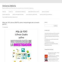 100 Libros GRATIS sobre metodología de la Investigacion