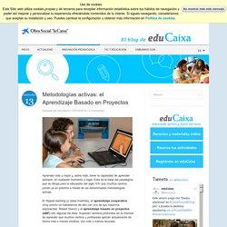 Metodologías activas el Aprendizaje Basado en Proyectos - Innovación pedagógica