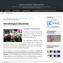 Metodologías Educativas