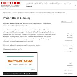Project Based Learning – Metodologie didattiche a confronto