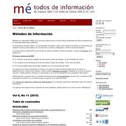 Métodos de información
