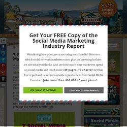 7 Social Media Metrics Marketers Should Track : Social Media Examiner