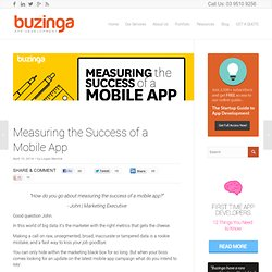 5 Metrics for Measuring the Success of a Mobile App