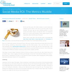 Social Media ROI: The Metrics Muddle
