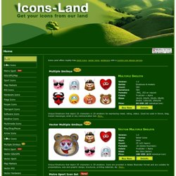 Vista Icons, Stock Icons and Custom Icon Design Service