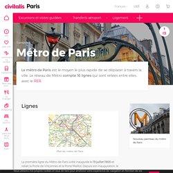 Métro de Paris - Le moyen le plus rapide de se déplacer dans Paris