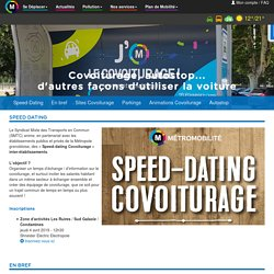 Métromobilité – Tester le covoiturage,l'autostop organisé...à Grenoble